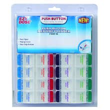 Medtime Push Button Planner   XL  Each