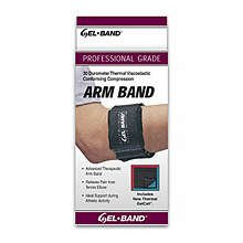 Image 0 of FLA GelBand Tennis Elbow Band Black