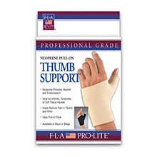 Image 0 of FLA ProLite Neoprene Pull-On Thumb Support Black Large