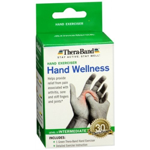 Image 0 of Thera-Band Hand Exerciser Green Intermediate