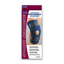 Image 0 of FLA Safe-T-Sport Stabilizing Neoprene Open Patella Knee Support Small