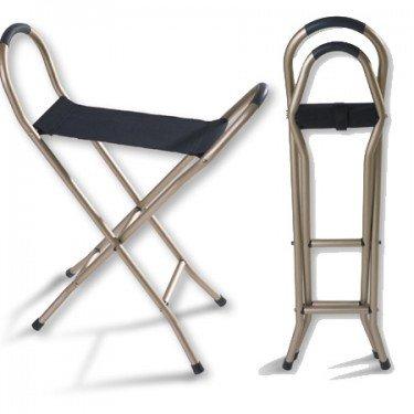 Image 0 of Alex Cane Seat Quad Bronze