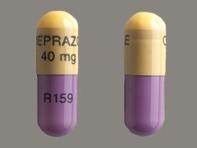 Image 0 of Omeprazole 40 Mg Caps 100 Unit Dose By American Health
