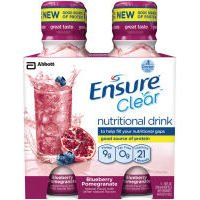 Ensure Clear Nutrition Drink Blueberry Pomegranate 3x4 ct