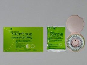 Image 0 of Ortho Micronor D-P 0.35 Mg 6x28 Tabs By J O M Pharma