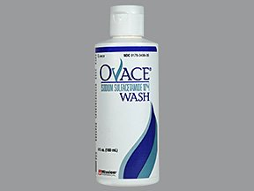Image 0 of Ovace 10% Wash 6 Oz By Mission Pharma