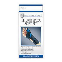 Image 0 of FLA Soft Fit Thumb Spica Brace