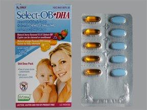 Select-Ob+D 60 Caps By Exeltis Inc.