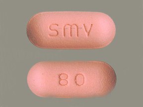 Image 0 of Simvastatin 80 Mg Tabs 30 By Accord Healthcare.