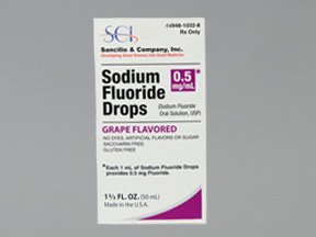 Sodium Fluoride 0.5Mg/Ml Drop 50 Ml By Sancilio And Company