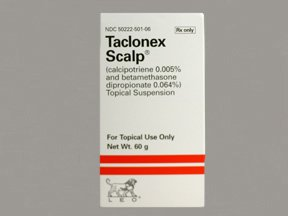 Taclonex Scalp Susp 60 Gm By Leo Pharma