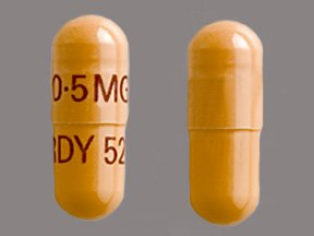 Tacrolimus 0.5 Mg Caps 100 Unit Dose By American Health
