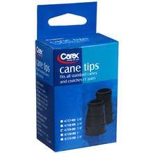 Image 0 of Cane Tip 7/8 Inch Black