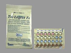 TriLegest Fe Tabs 5X28 By Teva Pharma.