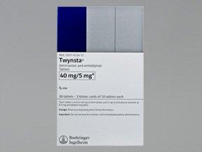 Twynsta 5-40 Mg Tabs 30 By Boehringer Ingelheim