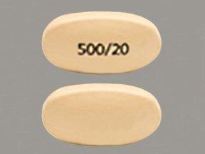 Image 0 of Vimovo 500/20 Mg Tabs 60 By Horizon Pharma