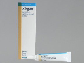 Zirgan 0.15% Gel 5 Gm By Valeant Pharma