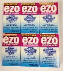 Image 1 of Ezo Denture Cushions Upper Heavy 12 Ct.