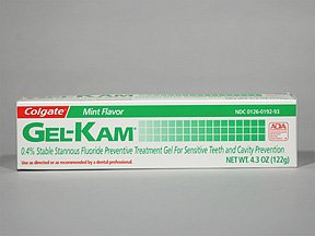 Gel-Kam 0.4% Mint Gel 4.3 Oz