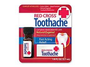 Red Cross Toothache Liquid 3.75 Ml.