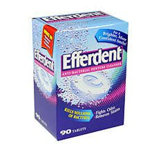Efferdent Original Denture Cleanser Tablets 120
