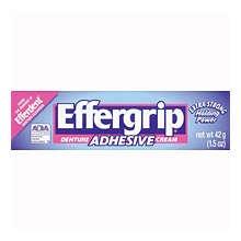 Image 0 of Effergrip Denture Adhesive Cream 1.5 Oz