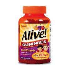 Image 0 of Alive Kids Gummies Gluten Free 60ea
