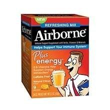 Airborne Plus Energy Citrus 9