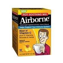 Image 0 of Airborne Vitamin C Crystals Honey Lemon 10