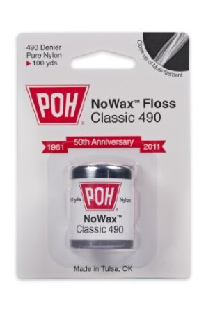 Poh Nowax Classic White Dental Floss 100Yd