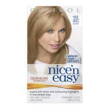 clairol nice and easy instruction leaflet
