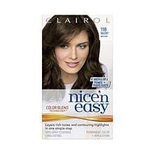 Nice N Easy Hair Color 118 Natural Medium Brown