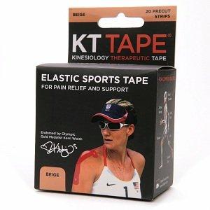 KT Tape Beige Athletic Sports Elastic 14 Strips