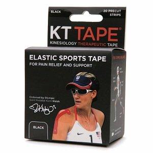 KT Tape Beige Athletic Sports Elastic Black 14 Strips