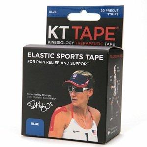 KT Tape Beige Athletic Sports Elastic Blue 14 Strips