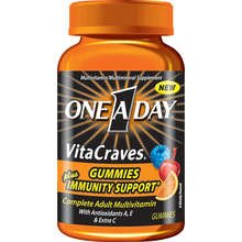 Image 0 of One-A-Day Vita Craves Immunity Gummies 50 Each