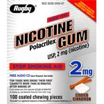 Image 0 of Nicotine 2 Mg Gum 100 Ct