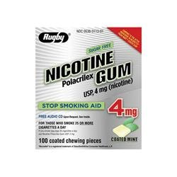 Image 0 of Nicotine Gum 4 Mg Cm 100 Ct