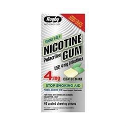 Image 0 of Nicotine Gum 4 Mg Cm 40 Ct