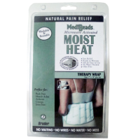 Image 0 of Bruder Moist Heat Wrap with Ties Therapy Wrap Size 7 x 14 Inches