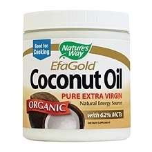 Image 0 of EfaGold Organic Pure Extra Virgin Coconut Oil by Nature's Way