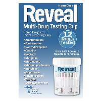 HomeChek Reveal Multi Drug Testing Cup   12 Drugs Tested 1 Ct