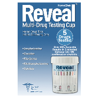 HomeChek Reveal Multi Drug Testing 5 Panel 1 Ea