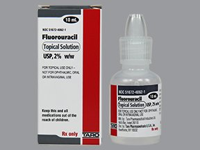 Fluorouracil 2% 10 ML Solution By Taro Pharma.
