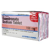 Ibandronate sodium Generic Boniva 150 MG 3 Tabs By Apotex Corp
