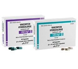 Vancomycin 125 Mg 20 Unit Dose Caps By Fresenius Kabi