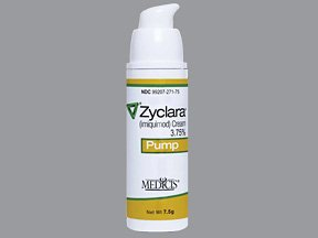 Zyclara Cream 3.75% 7.5 Gm Cream By Valeant Pharma