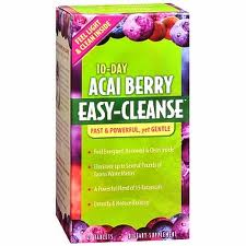 Acai 10 days easy cleanse by Irwin Naturals 40 Tabs