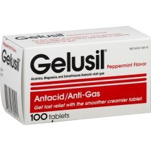 Gelusil Tablet Peppermint 100Ct