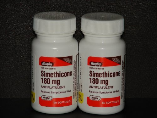 Image 0 of Simethicone 180 Mg 60 Capsules By Phazyme